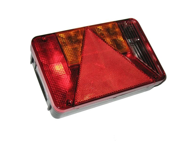 Radex 5800 Anhänger Rückleuchte rechts mit Rückfahrscheinwerfer u. Leuchtmittel
