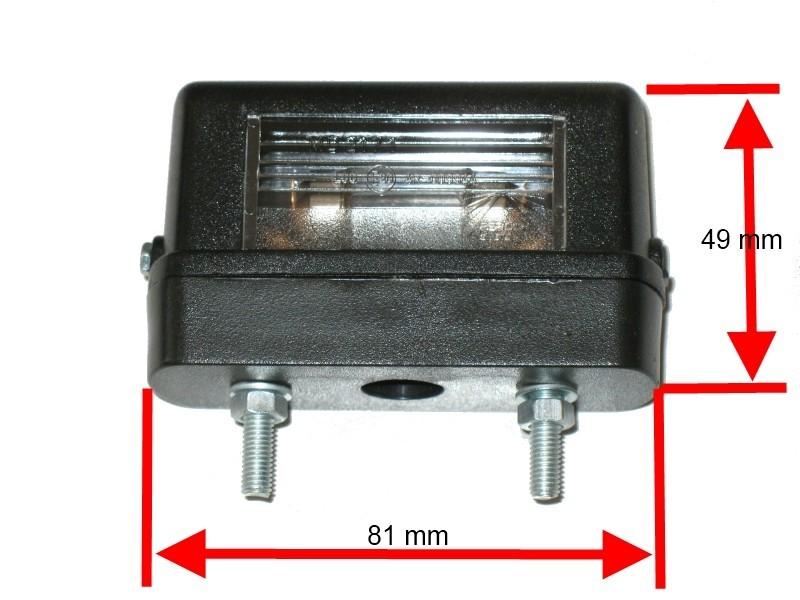 kennzeichenleuchte asp ck regpoint small inkl leuchtmittel anh nger ersatzteile beleuchtung. Black Bedroom Furniture Sets. Home Design Ideas